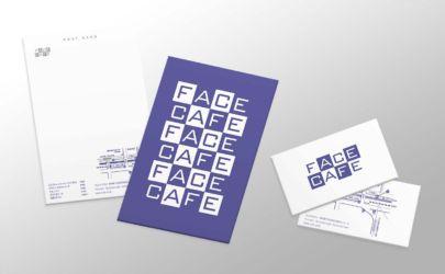 【ロゴ・ステーショナリーデザイン】<br> カフェバーのロゴ、メニュー、ポストカードなど一式のデザイン